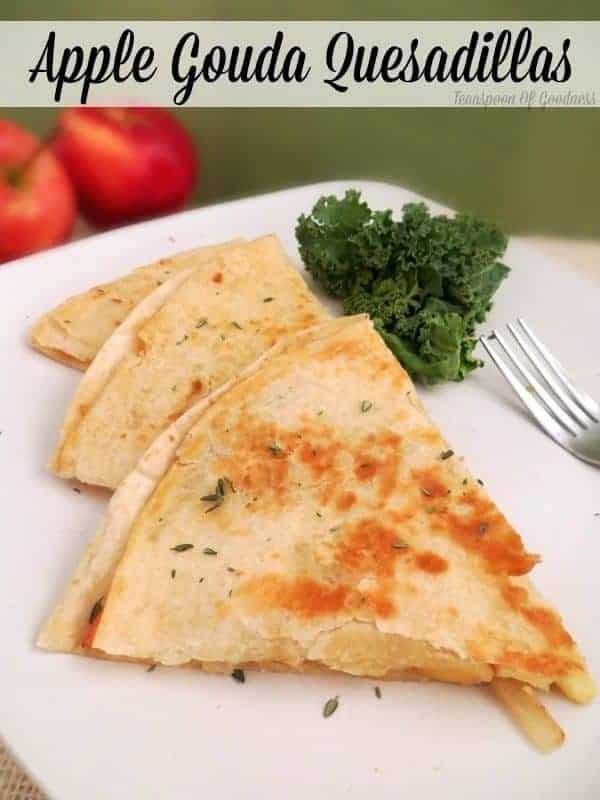 Apple Gouda Quesadilla Recipe