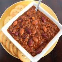 Wendy's Copy Cat Chili Recipe