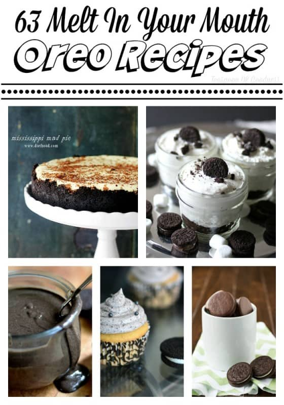 63 Melt In Your Mouth Oreo Recipes To Try Today