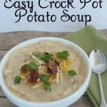 Easy Crock Pot Potato Soup Recipe