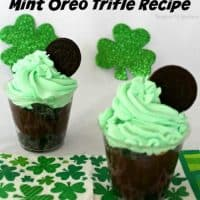 If you want the ultimate decadent recipe then look no further than our favorite Mint Oreo Trifle Recipe.