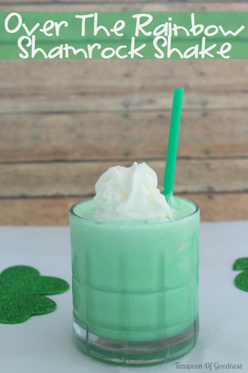 Over The Rainbow Shamrock Shake + St. Patrick's Day Quiz