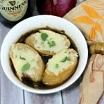 Slow Cooker Guinness French Onion Soup