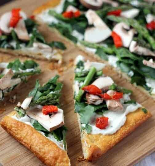 Veggie Pizza Appetizer Recipe