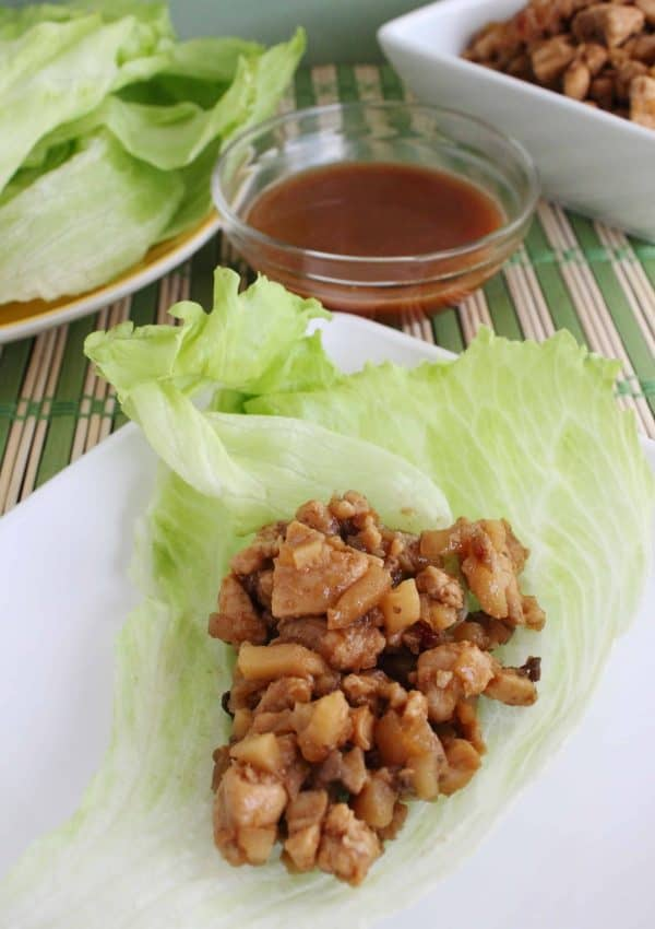 Copy Cat PF Changs Lettuce Wraps