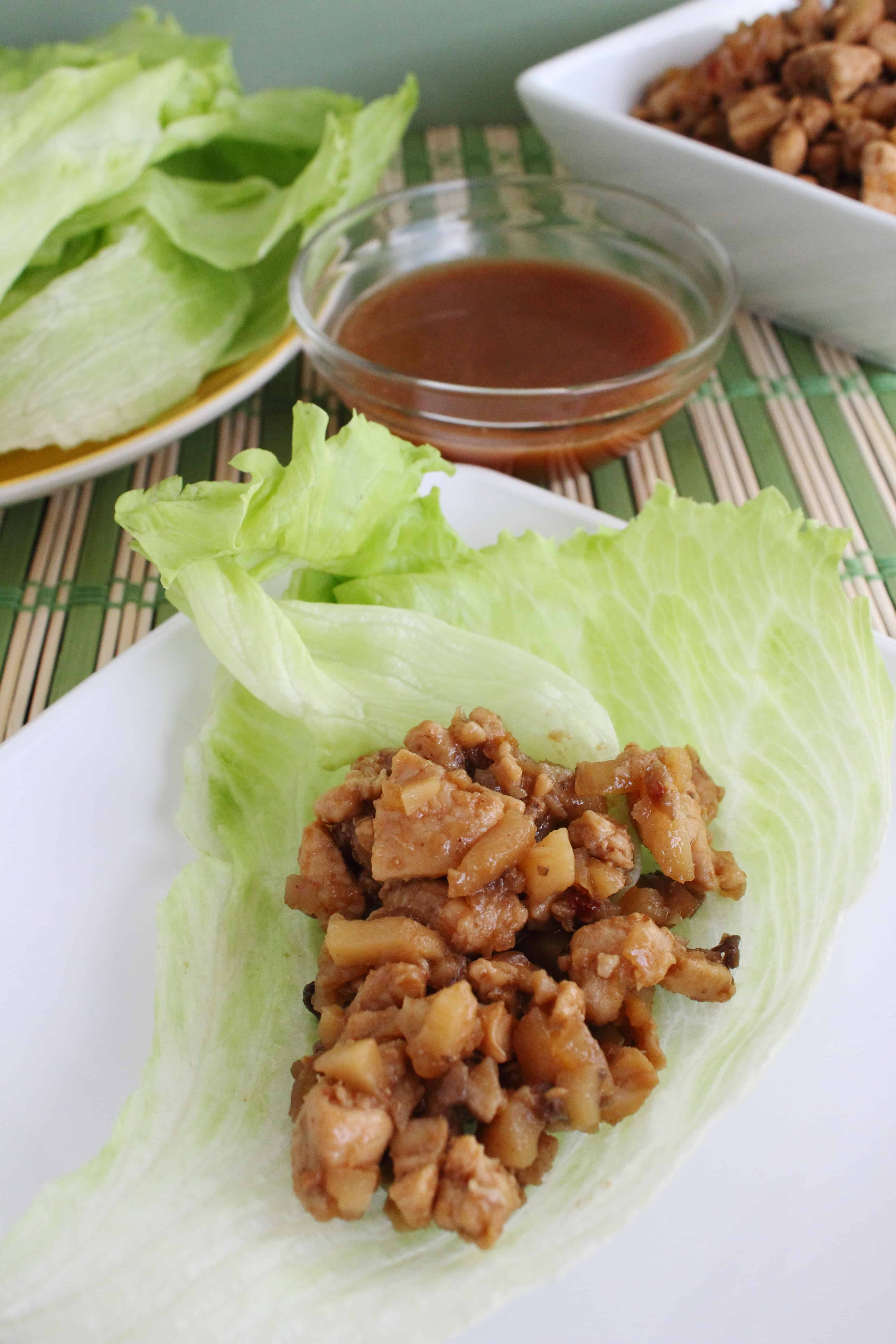 Copy Cat PF Changs Lettuce Wraps