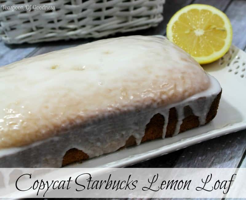 Copycat Starbucks Lemon Loaf Cake 1