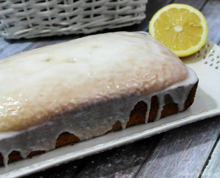 Copycat Starbucks Lemon Loaf Cake
