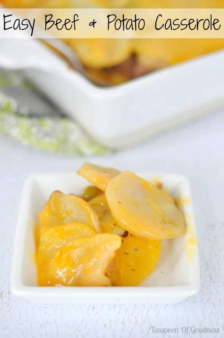 Easy Beef & Potato Casserole
