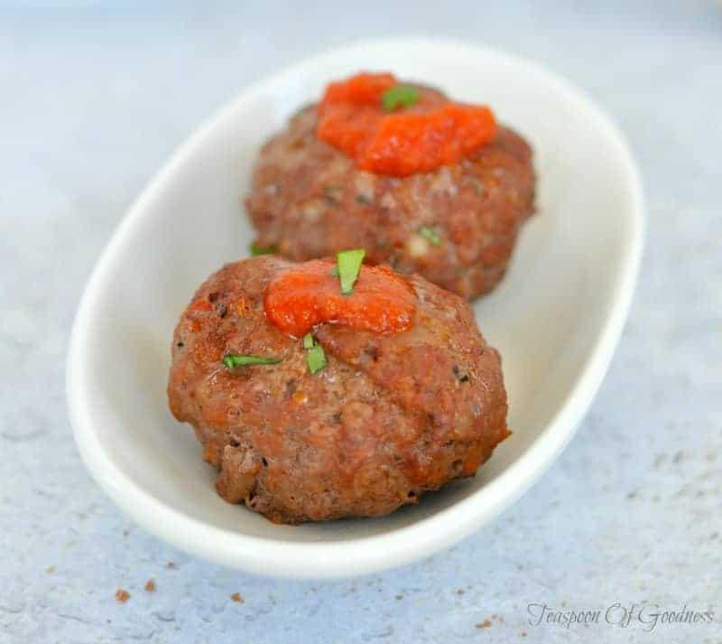 Freezer Friendly Meatball Recipe - Teaspoon Of Goodness