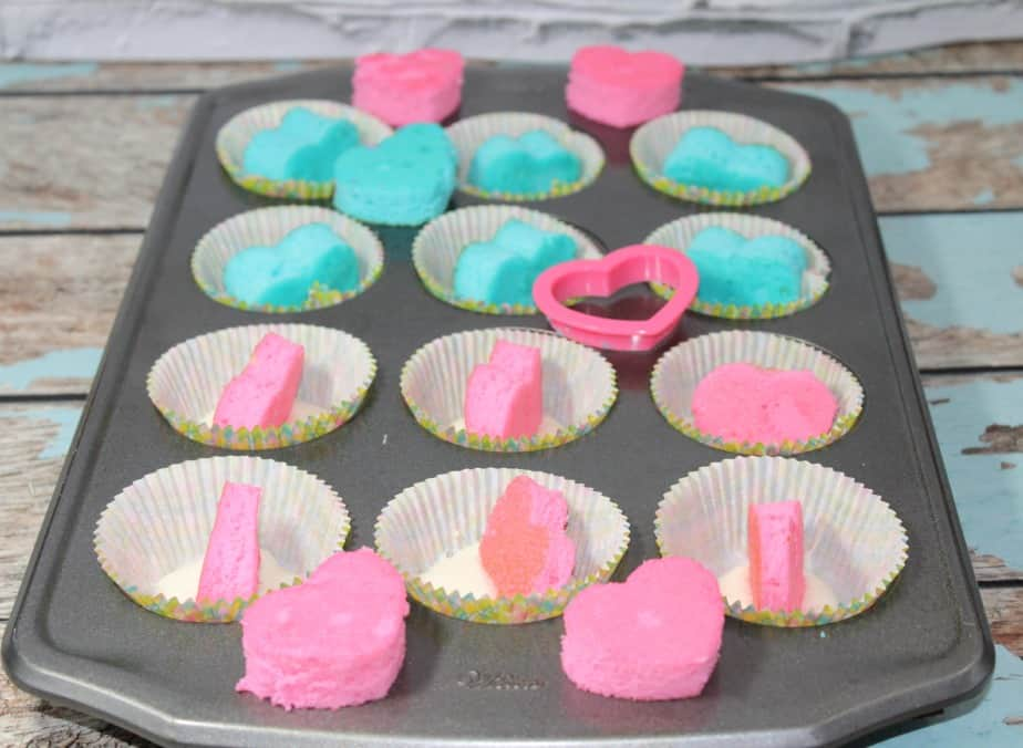 gender reveal cupcakes teaspoon of goodness