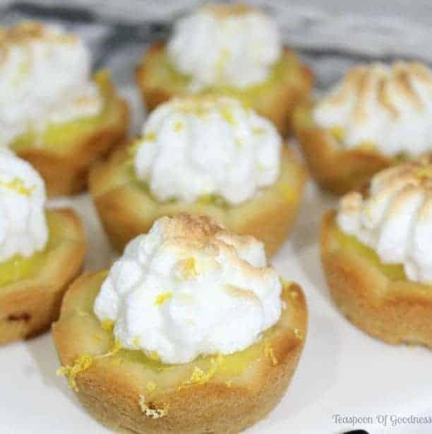 Mini Lemon Meringue Pie Recipe