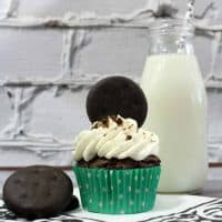 Thin Mint Chocolate Cupcake Recipe