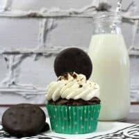 Thin Mint Chocolate Cupcake Recipe