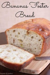 Bananas Foster Bread Recipe