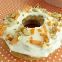 Baked Carrot Cake Donut