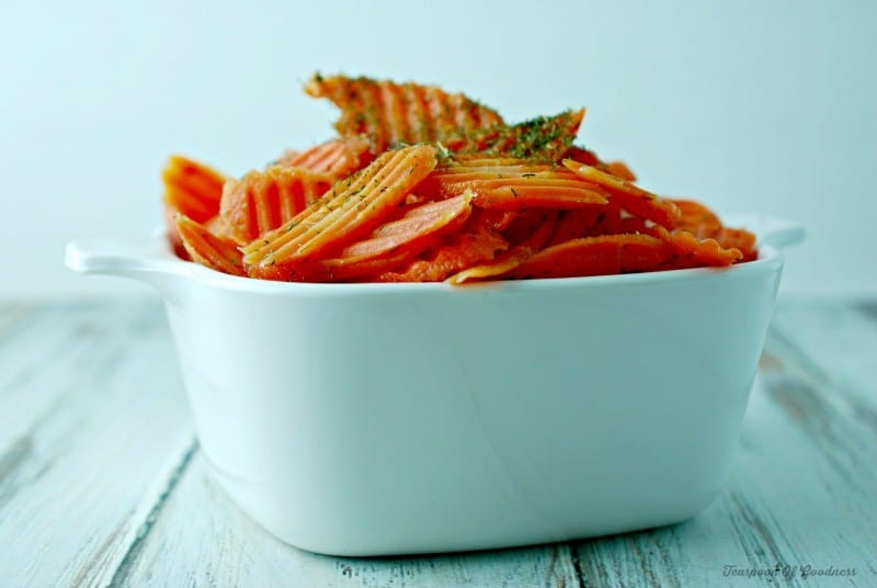 Dill Glazed Carrots 1