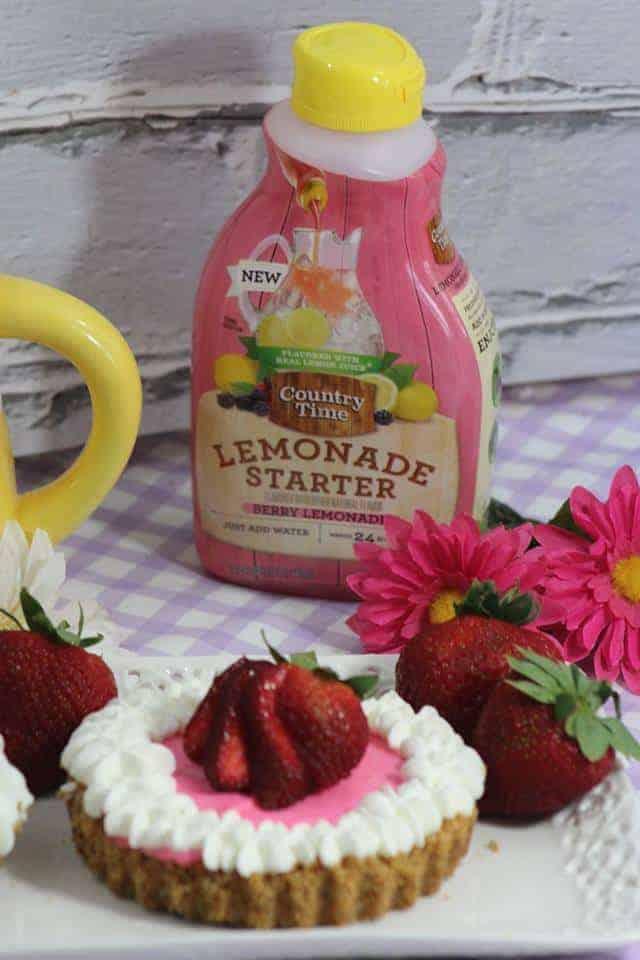 Mini No-Bake Berry Cheesecake
