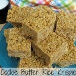 Cookie Butter Rice Krispie Treats