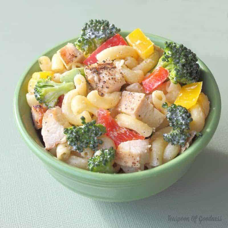 Grilled Chicken & Broccoli Pasta Salad