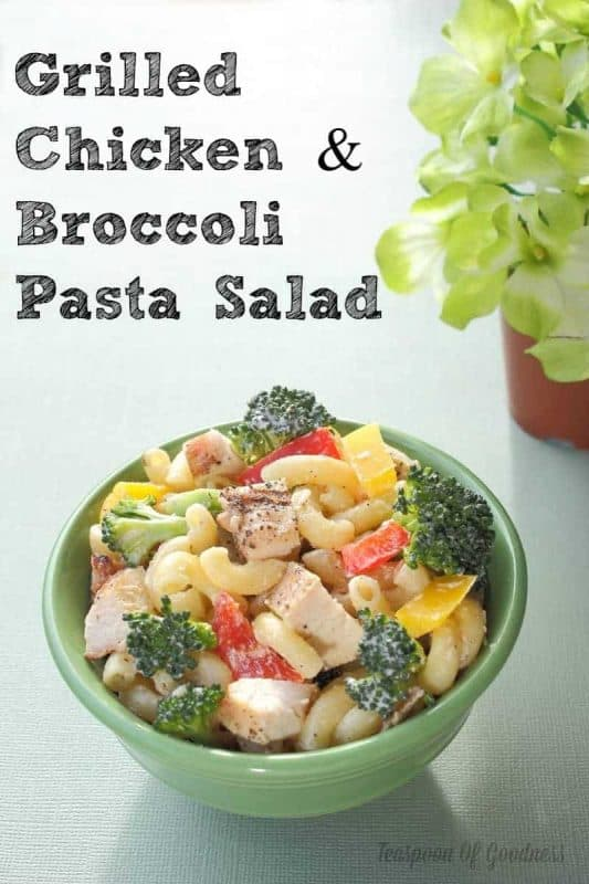 Grilled Chicken & Broccoli Pasta Salad 4
