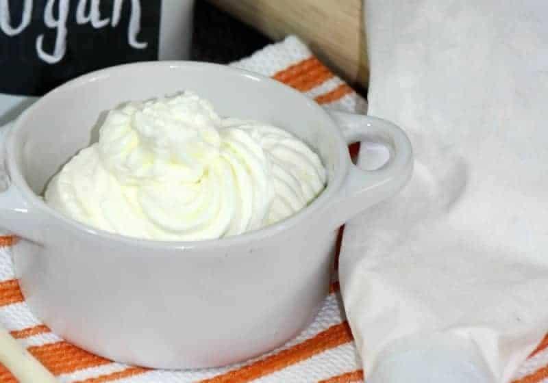Homemade Whip Cream