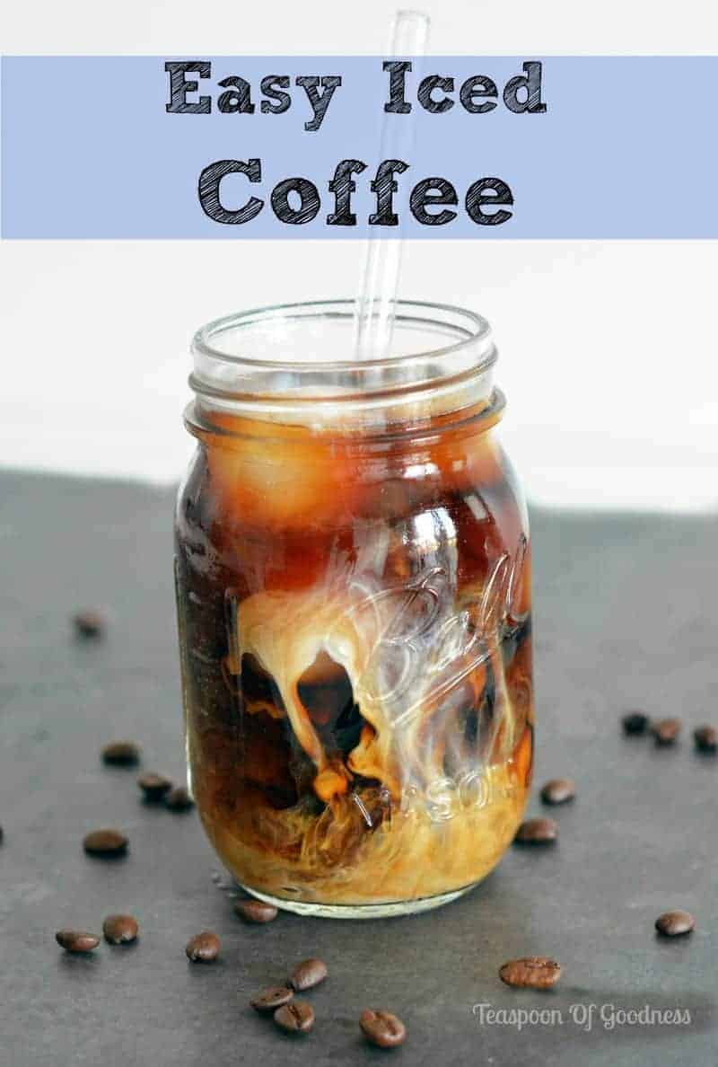 blueberry iced coffee thai iced coffee cold brewed iced coffee iced ...