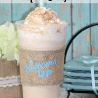 Starbucks Copycat Cinnamon Roll Frap