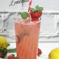 Strawberry Mint Lemonade