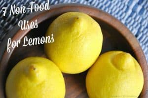 Lemons are not just to add flavor to our water, salad or lemonade. 7 uses for lemons that don't involve eating them!