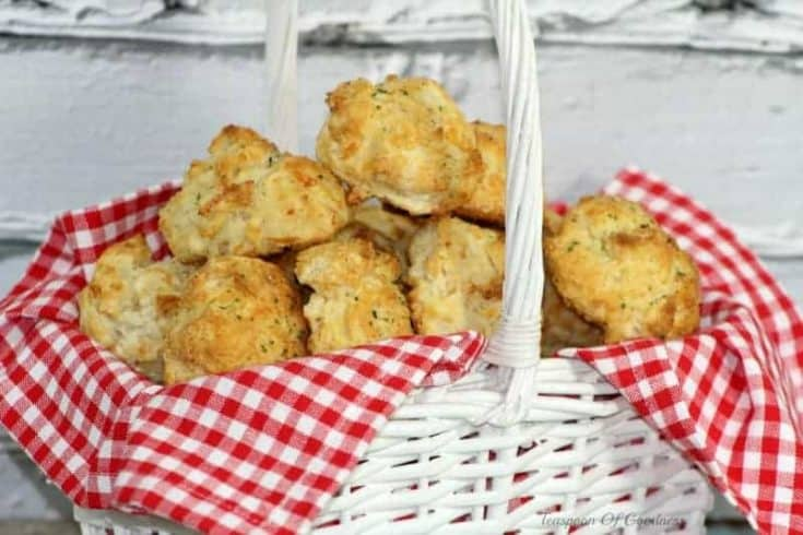 Freezer Friendly Cheddar Bay Biscuits