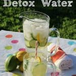 Detox Water with Cucumber, Lemons, & Limes