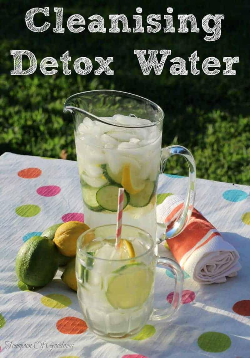 Detox Water With Cuber Lemons