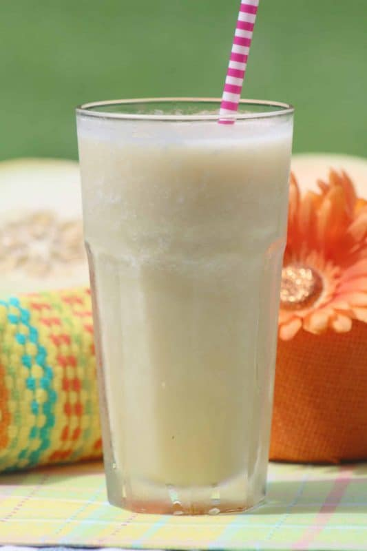 Melon Smoothie - Teaspoon Of Goodness