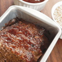 Meatloaf with BBQ Sauce
