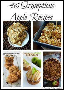 46 Scrumptious Apple Recipes - Teaspoon Of Goodness