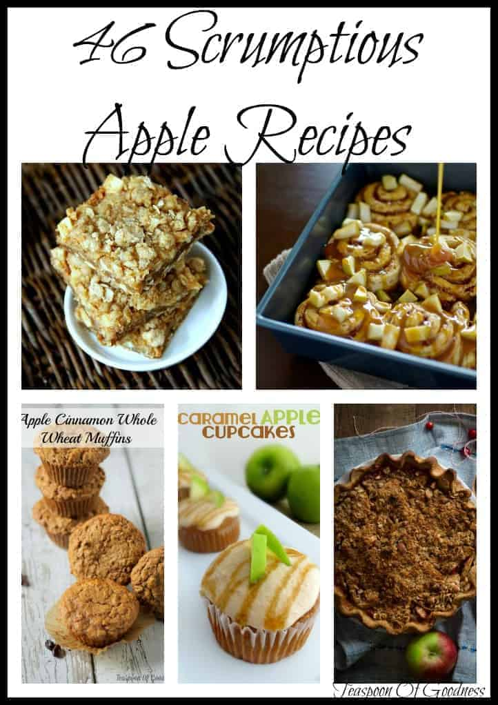 46 Scrumptious Apple Recipes