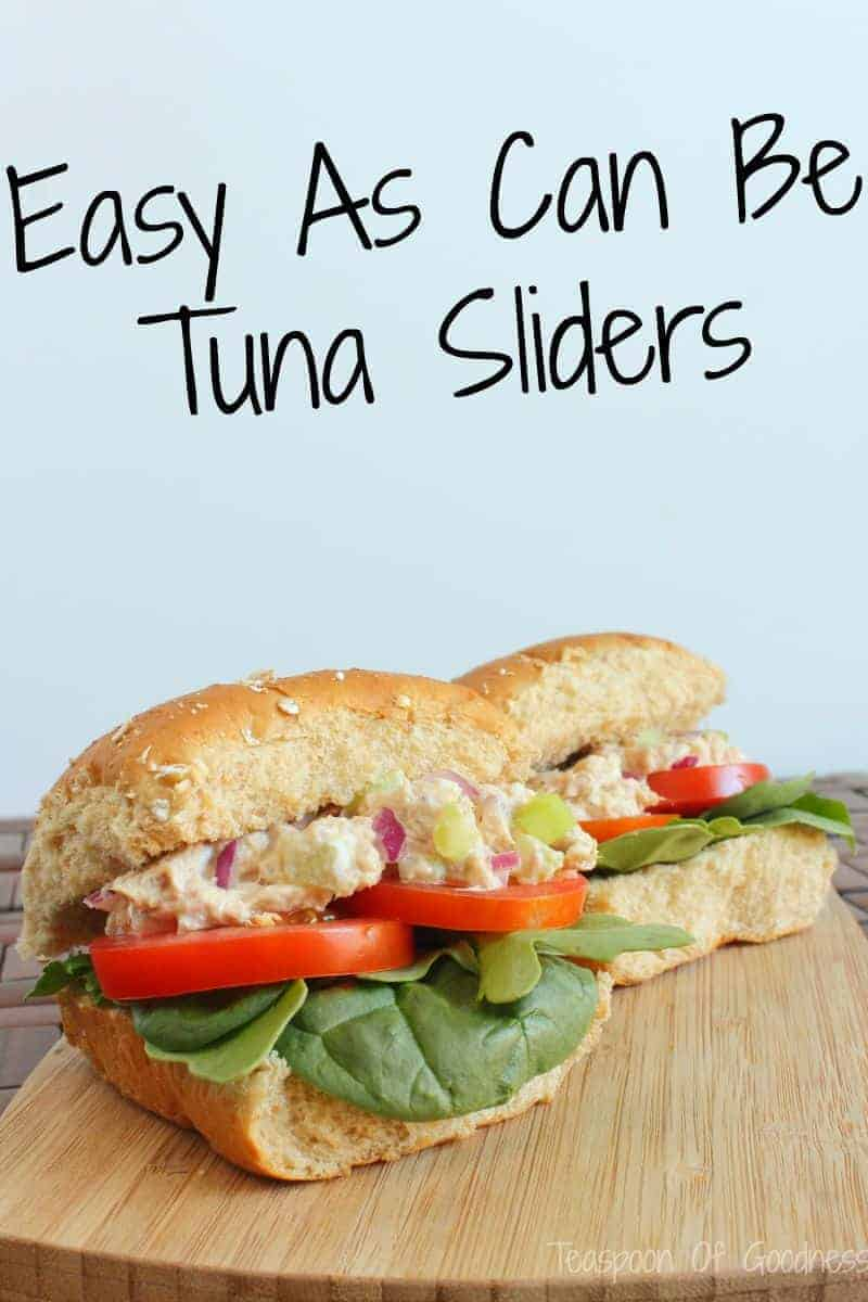 Easy As Can Be Tuna Sliders