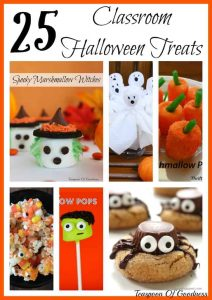 25 Classroom Halloween Treats - Teaspoon Of Goodness