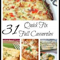 31 quick-fix fall casseroles for chilly fall nights. - Teaspoon Of Goodness