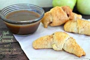 Apple Cinnamon Crescent Rolls - Teaspoon Of Goodness