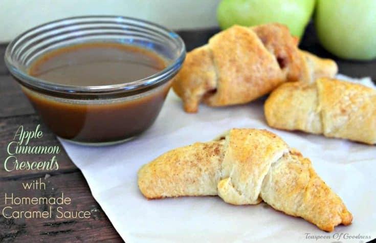 Apple Cinnamon Crescent Rolls - Teaspoon Of Goodness