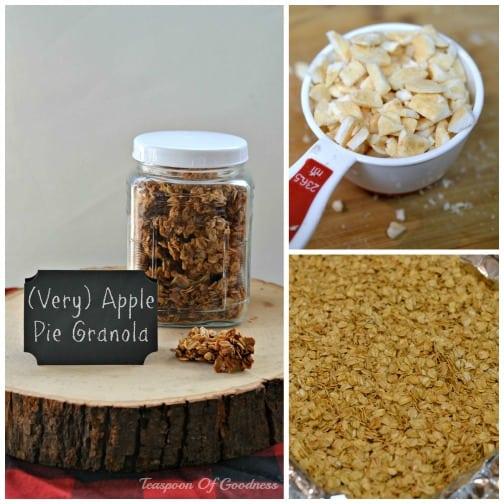 Apple Cinnamon Granola Recipe - Teaspoon Of Goodness