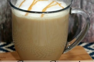 This Caramel Macchiato Recipe will remind you of your favorite coffee shop version! No more $5 coffee for you! - Teaspoon Of Goodness