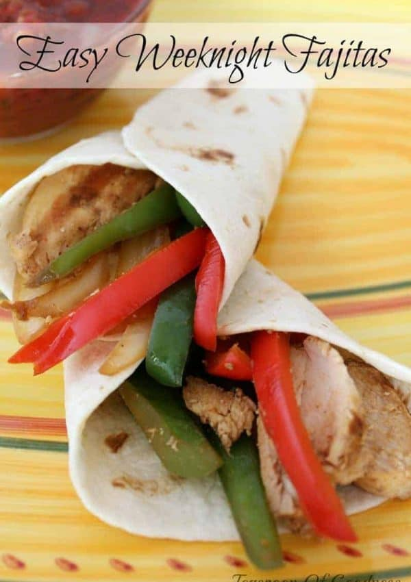 Easy Weeknight Chicken Fajita Recipe