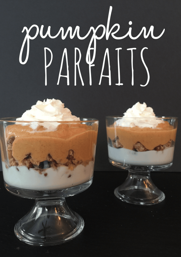 Pumpkin Parfait Recipe
