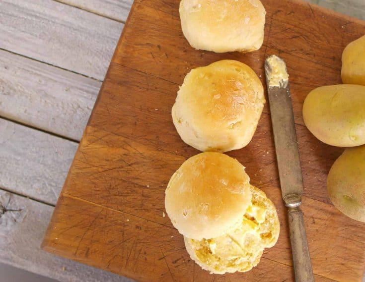 Homemde Potato Rolls Recipe