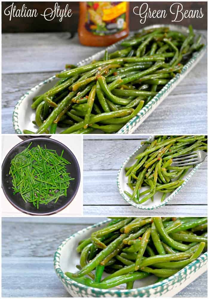 Italian Seasoned Fresh Green Beans