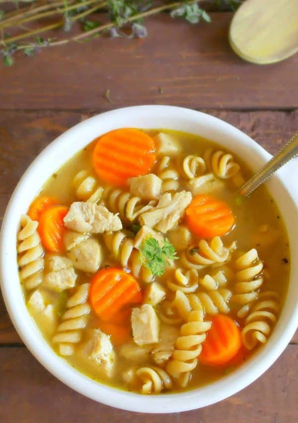 Home Cooked Comfort Taste In This 15 Minute Chicken Noodle Soup