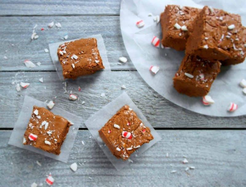 Peppermint Mocha Fudge - Teaspoon Of Goodness